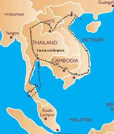 South East Asia Itinerary