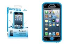 Groupon - Naztech Vault Waterproof Cover for iPhone 5s/SE - Blue. Groupon deal price: $18.49