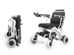 Foldawheel PW-999UL by Wheelchair88, the Lightest Power Electric Wheelchair in the World. Most Compact Foldable Motorized Wheelchair with Polymer Lithium-ion Battery Wheelchair88,http://www.amazon.com/dp/B00BIF9V5G/ref=cm_sw_r_pi_dp_V5.wsb0G5SVVH8FC