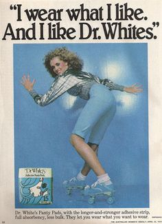 Dr Whites Sanitary Towels Tumbler Blurb From The Burbs Sanitary Towels Menstrual Pads