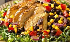 Summer Salads (Grilled Tex-Mex Salad, Orzo Salad with Cilantro Lime Pesto, and Grilled Flank Steak Garden Salad) | 2020 Lifestyles