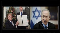 #President #Trump - #Jerusalem #Announcement A #change in the State of #capital, difference #UN opinion indeed, The statements from US President Donald Trump and Israeli Prime Minister #Benjamin #Netanyahu