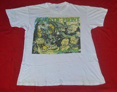 vintage Agnostic front hardcore punk band 90s t shirt by jiro85