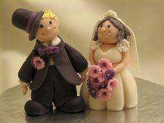 Bride & Groom a la Debbie Brown