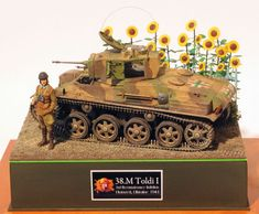 HobbyBoss Hungarian Toldi I tank by Steve Zaloga Defence Force, Military Modelling, Panzer, War Machine, World War Two, Military Vehicles, Ww2, Trains, Army