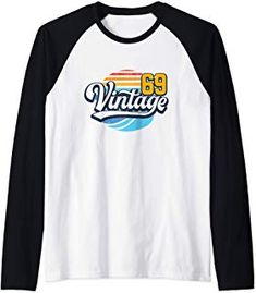 Birthday Gift Retro vintage 50 years old 1969 Raglan Baseball Tee Unique Birthday Gifts, 50th Birthday Gifts, Raglan Baseball Tee, Urban Street Style, Athletic Wear, Petite Size, Retro Design, Fashion Advice, Everyday Fashion