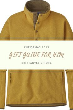 The BEST gift guide for him Christmas links included! Christmas Gift Guide, Christmas 2019, Christmas Gifts, Gift Guide For Him, Best Gifts, How To Get, Lifestyle, Mens Tops, Xmas Gifts