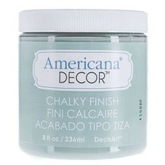 Interesting! At Hobby Lobby?! Chalk Paint for $8.99 8 oz....Vintage Americana Decor Chalky Finish Paint
