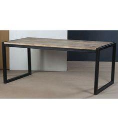 #Indyjski industrialny #stół Model: TI-5750 Teraz się tylko: 1,357 zł. Zamów online @ http://goo.gl/CBU44T