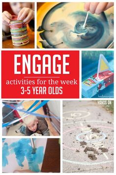 A week of activities planned for some fun with preschoolers!!