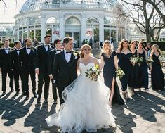 Lea & Greg usher in the spring season with a beautiful wedding at the iconic New York Botanical Garden. Safe to say the day was in full bloom - and then some! Photography by Unveiled-Weddings Ny Botanical Garden, Nyc Wedding Photographer, New York Wedding, Photography And Videography, Garden Wedding, Bloom, Seasons, Weddings, Bride