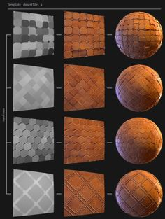 Jeff Horal presented his amazing Stylized Tile Generator that allows artists to easily create new stylized textures in Substance Designer. Blender 3d, 3d Texture, Texture Design, Substance Designer Tutorial, Cinema 4d, 3ds Max Tutorials, Game Textures, Hand Painted Textures, Drawn Art