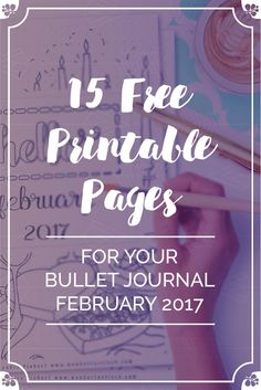 Free Bullet Journal Printables for your February SetUp. Including Habit Tracker, February Memories, Monthly Log & many more beautiful pages. Bullet Journal September, Bullet Journal Work, Bullet Journal How To Start A, Bullet Journal Spread, Bullet Journal Inspiration, Bullet Journals, Journal Ideas, Journal Prompts, Daily Journal