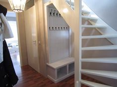 Open Trap, Living Place, Entry Hallway, Stair Storage, House Entrance, Under Stairs, Home Hacks, Home Living Room, Architecture Design