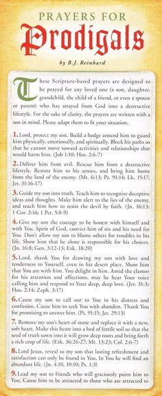 Prayers for Prodigals by B.J. Reinhard #5 of 7