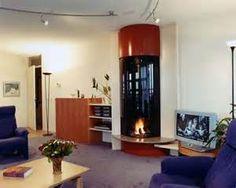 modern fireplace designs - Bing Images