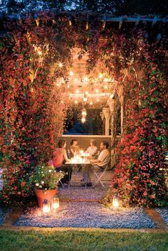 Would LOVE to have this magical area in my back yard!!! <3