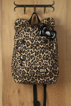 Hello Kitty Leopard Backpack | $41.40
