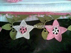 crochet towel edge by Crochet Knitting, via Flickr