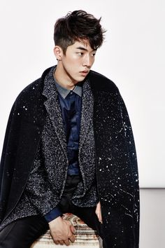 Yoon So Jung, Sera Park, Nam Joo Hyuk, Byun Woo Seok by Shin Seon Hye for Marie Claire Korea Nov 2014