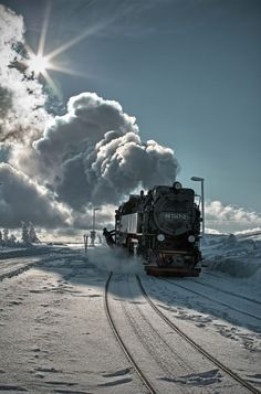 Steam Engine Photography by Jorn Hoffmann