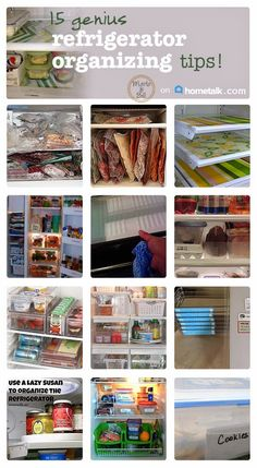My fridge is a mess. Can't wait to use some of these tips--I think this is going to be my next weekend project!