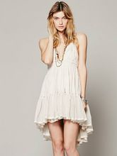 2016 vestido de verão sem encosto praia férias vestido de renda strapless bonito vestido sexy vestidos vestido curto vestido de baile plissada doce quente alishoppbrasil