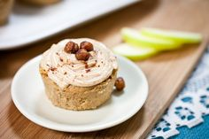 Apple Fritter Cupcakes with Sugar-Free Cinnamon Cream Cheese Frosting (egg free! vegan!)