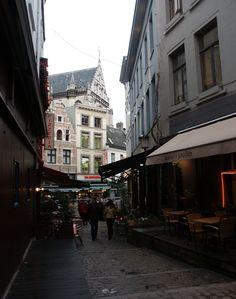 Near the Grote Markt in Antwerp, Belgium