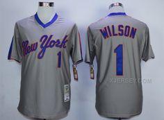 http://www.xjersey.com/mets-1-mookie-wilson-grey-throwback-jersey.html METS 1 MOOKIE WILSON GREY THROWBACK JERSEY Only 33.11€ , Free Shipping!