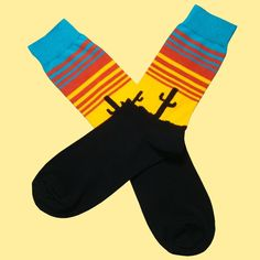 A great men's gift for those special occasions or just a fun pair of sock for every day wear. Bassin and Brown for colourful and quality men's socks. Black N Yellow, Red And Blue, Multi Coloured Socks, Brown Socks, Men's Socks, Red Design, Fashion Socks, Calves, Pairs