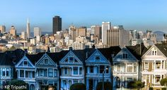 https://flic.kr/p/bFB1oZ   Alamo Square - San Francisco   Visit my Website Like me on Facebook Alamo Square - San Francisco Alamo Square is a residential neighborhood and park in San Francisco, California. Alamo Square Park consists of four city blocks at the top of a hill overlooking much of San Francisco, with a number of large and architecturally distinctive mansions along the perimeter. It is bordered by Hayes Street to the south, Fulton Street to the north, Scott Street to the west…