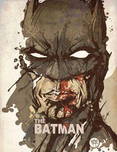 The Batman by cheshirecatart