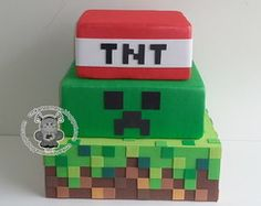 It was – minecraft Minecraft Torte, Minecraft Food, Minecraft Birthday Cake, Minecraft Crafts, Minecraft Skins, Minecraft Buildings, Mine Craft Party, Game Truck Party, 10th Birthday Parties