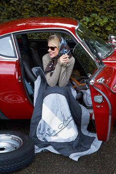 I'm a 50 year old lady from the United States. I have a 20 year old son, who I am raising alone. Head Scarf Tying, Porsche Models, Jaguar E, Porsche 356, Porsche Auto, E Type, Winter Beauty, Car Girls, Travel Style