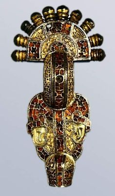 Fibula from Wittislingen, Tyskland, 625 AD