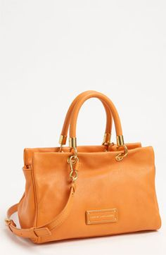MARC BY MARC JACOBS 'Too Hot to Handle' Leather Satchel available at #Nordstrom
