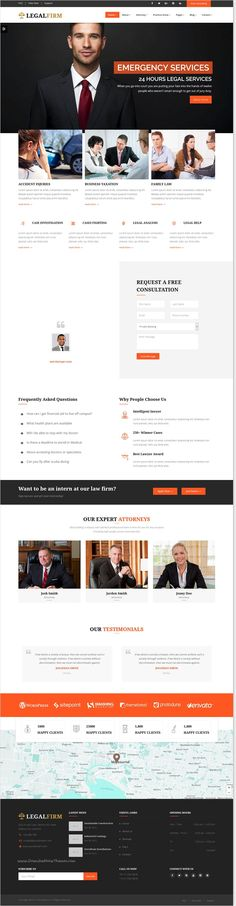 LegalFirm is modern and clean #design Bootstrap #HTML5 template for lawyers, #attorneys, judges, law firms or legal office websites with 6 stunning homepage layouts download now➩ https://themeforest.net/item/legalfirm-insurance-and-lawyer-business-html5-template/17253777?ref=Datasata