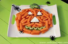 Calabaza de Halloween, saludable