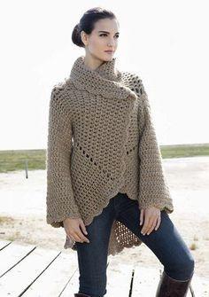 Lana Grossa Crochet Jacket Free Pattern