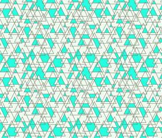 geo_triangles fabric by holli_zollinger on Spoonflower - custom fabric