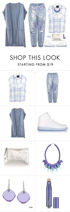 """Casual"" by musicfriend1 ❤ liked on Polyvore featuring Rails, Topshop, Wrap, NIKE, Love Moschino, Ek Thongprasert, La Preciosa and By Terry"