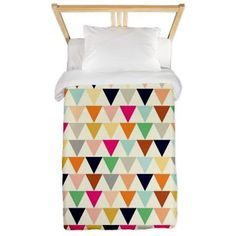 Triangles twin duvet cover
