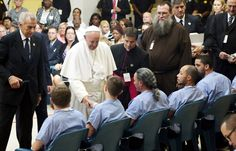 pope francis visit to philadelphia 2015   Pope Francis brings hope to Curran Fromhold Correctional Facility ...