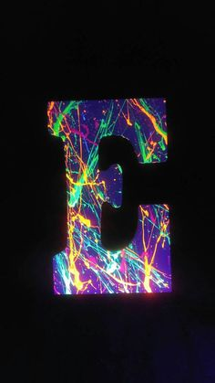 Hey, I found this really awesome Etsy listing at https://www.etsy.com/listing/521498151/glow-party-letters-wooden-painted
