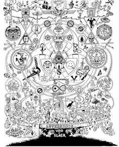 or kill me! Occult Symbols, Occult Art, Church Of The Subgenius, Occult Books, Book Tattoo, Knights Templar, Archetypes, Sacred Geometry, Dark Art