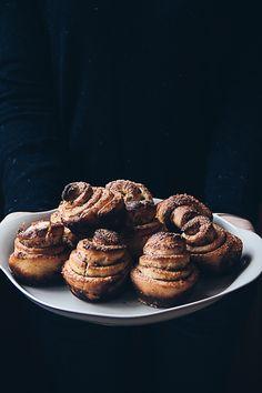 star anise, cardamom + cinnamon buns