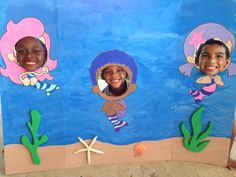 Bubble Guppies Photo Booth