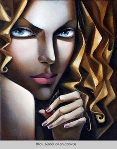"""""""Blick"""" by Ira Tsantekidou - Paintings since 2008"""