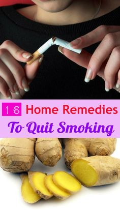 16 Home Remedies to Quit Smoking
